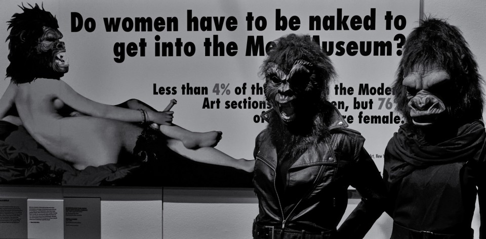 Guerrilla Girls - V&A Museum, Londres.