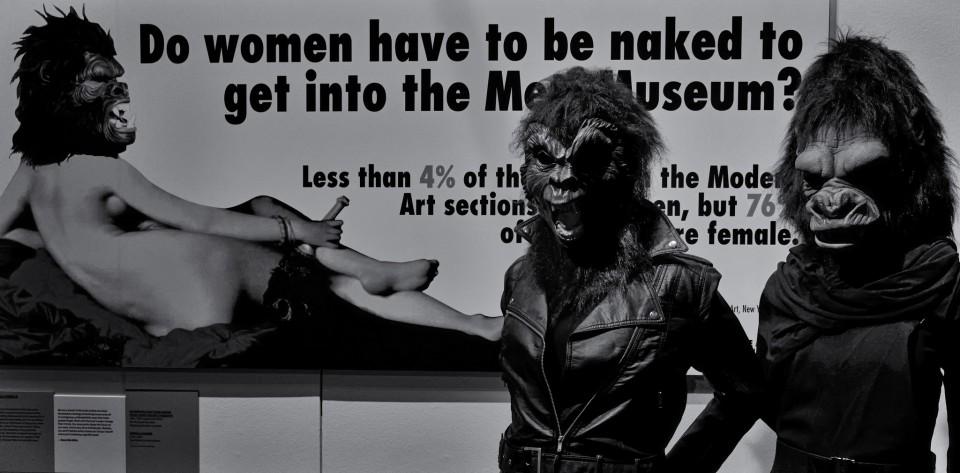 Guerrilla Girls - V&A Museum, Londres.