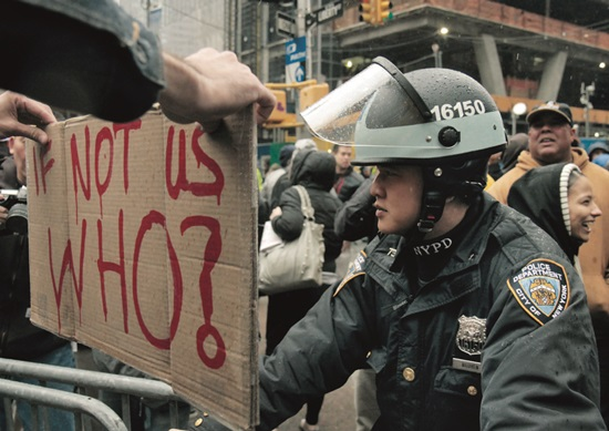Movimiento 'Occupy Wall Street'.