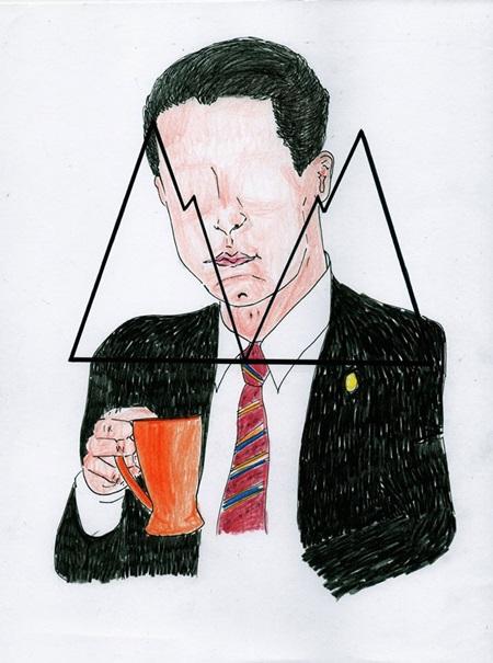 Ilustración del agente Cooper por Kai Corvus.