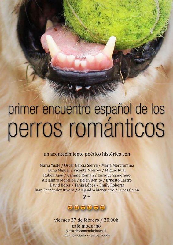 Cartel Los perros románticos