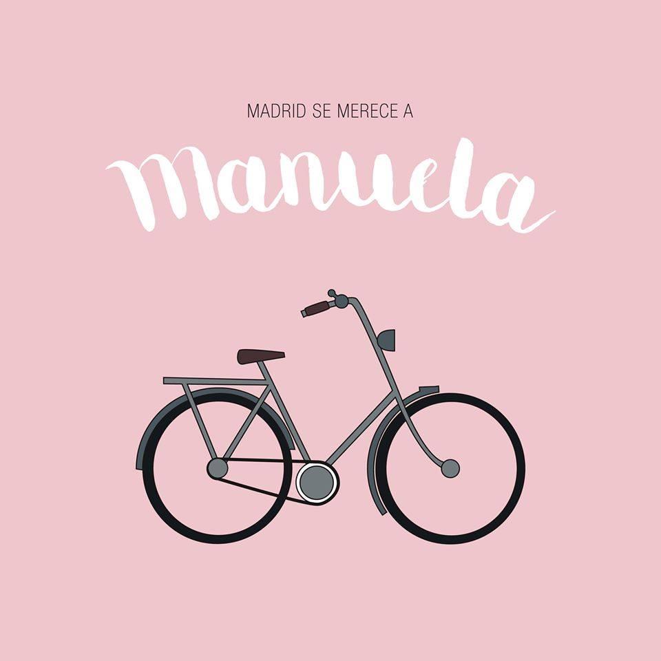 La bici de Carmena, por Mercedes Camacho.