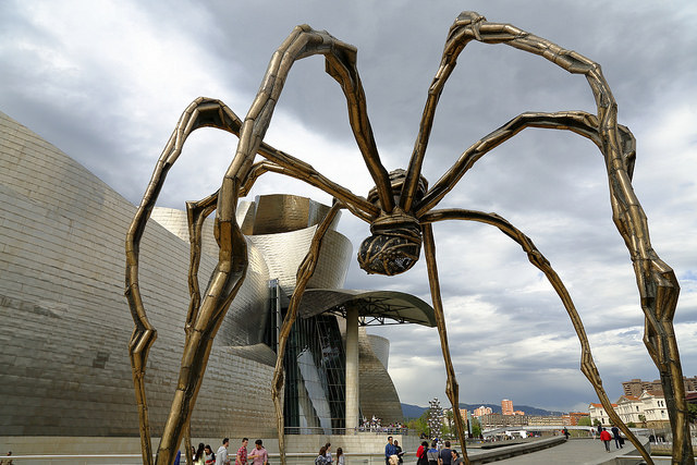 Louise Bourgeois. Guggenheim Bilbao