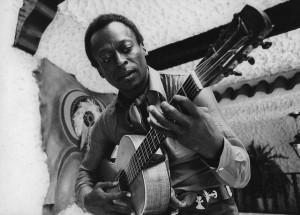 Miles Davis a la guitarra. Foto de Winston Vargas.