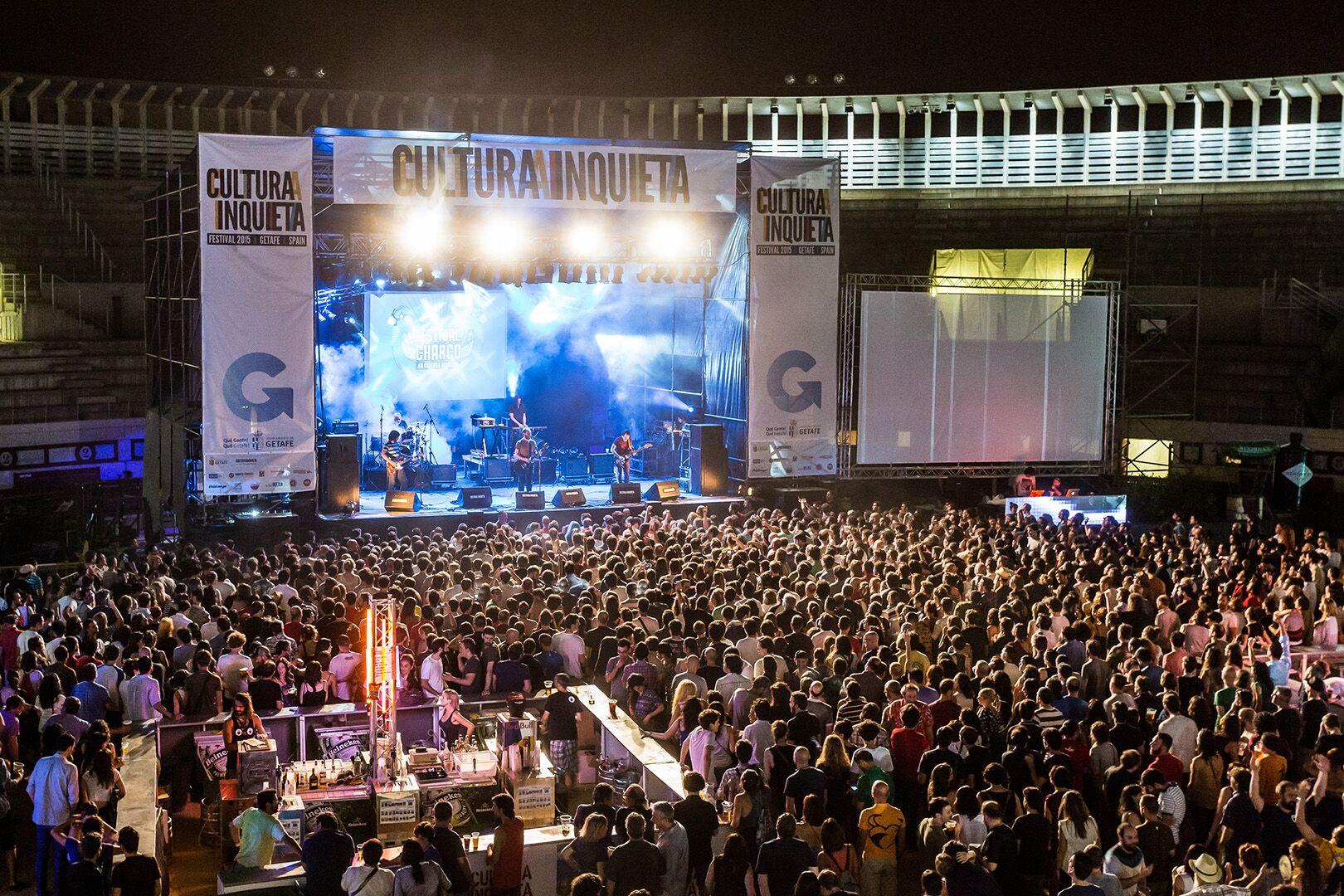 Imagen del Festival Charco, durante la última edición del Cultura Inquieta.
