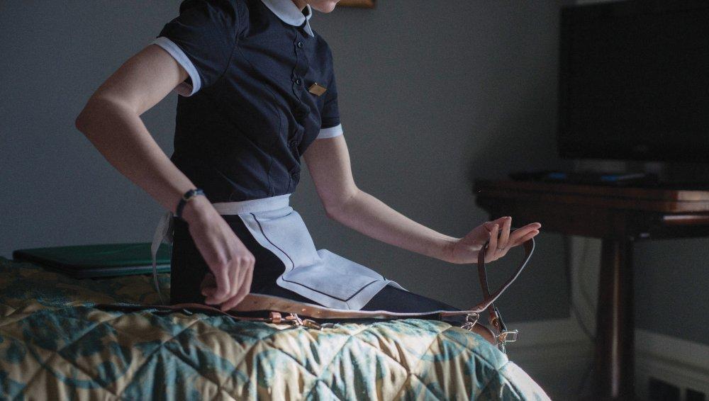 Cinturón de castidad onanística en 'Langosta'.