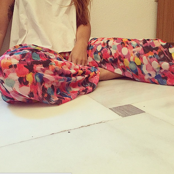 Los 'pantalones candy' de Juanita Banana.