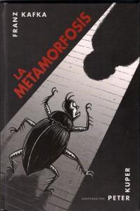 Portada del 'La metamorfosis' de Franz Kafka, adaptada por Peter Kuper.