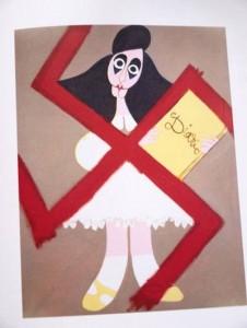 Anna Frank por Andrés V. de Sola