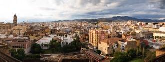 Panorámica de Málaga.