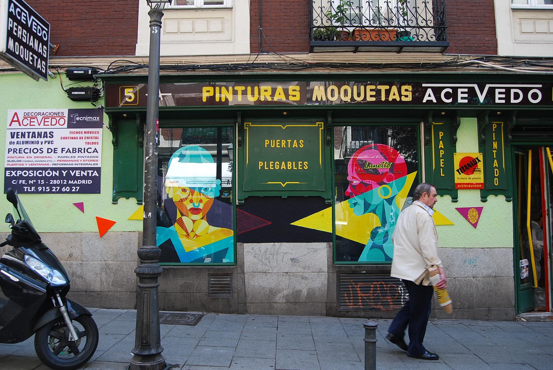 Decoraciones Acevedo Miguel Servet - Concreto Street Art