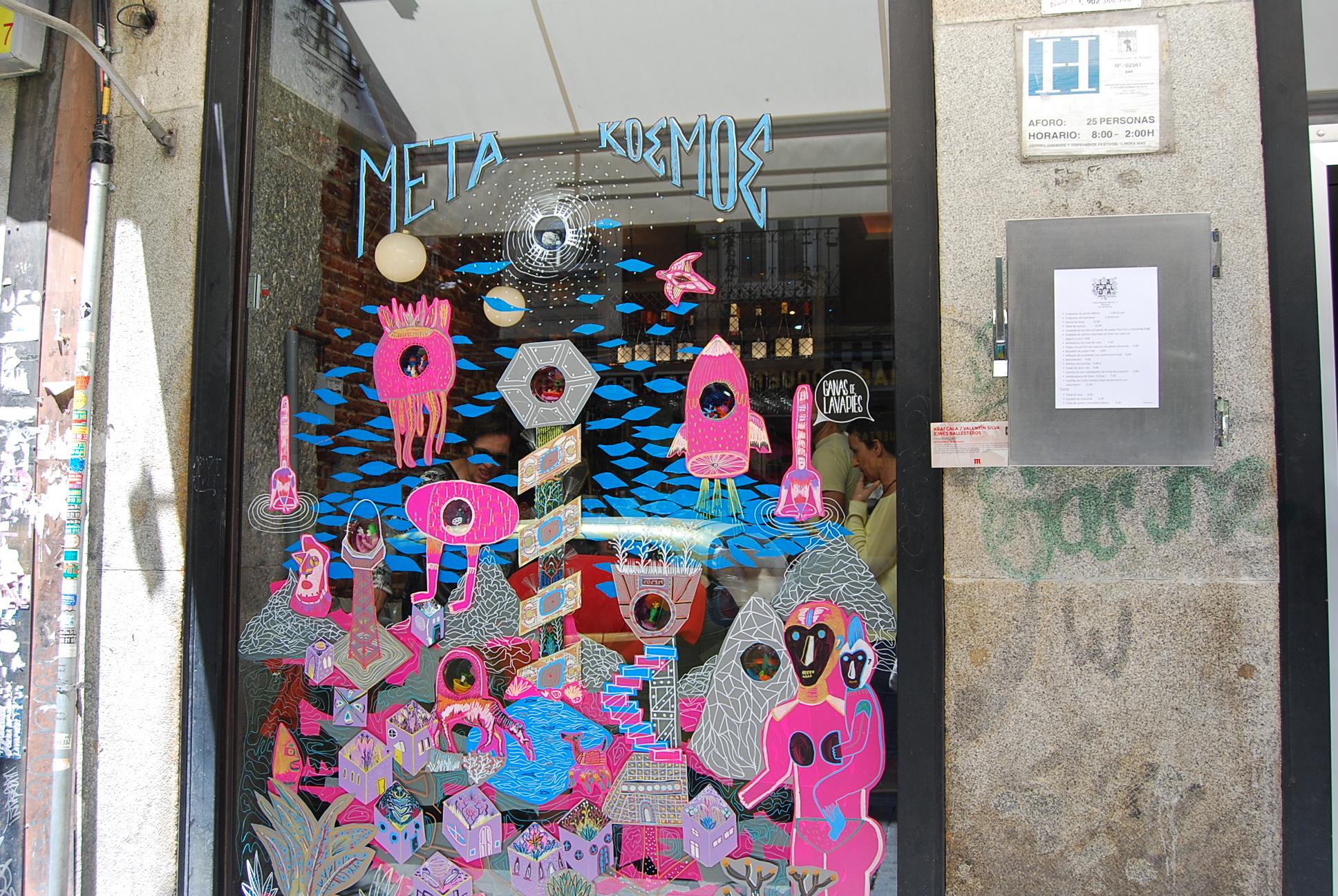 La Falda de Lavapiés - colectivo Krafcala