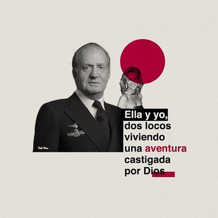 Juan Carlos I & Corinna feat. Don Omar y Romeo Santos.