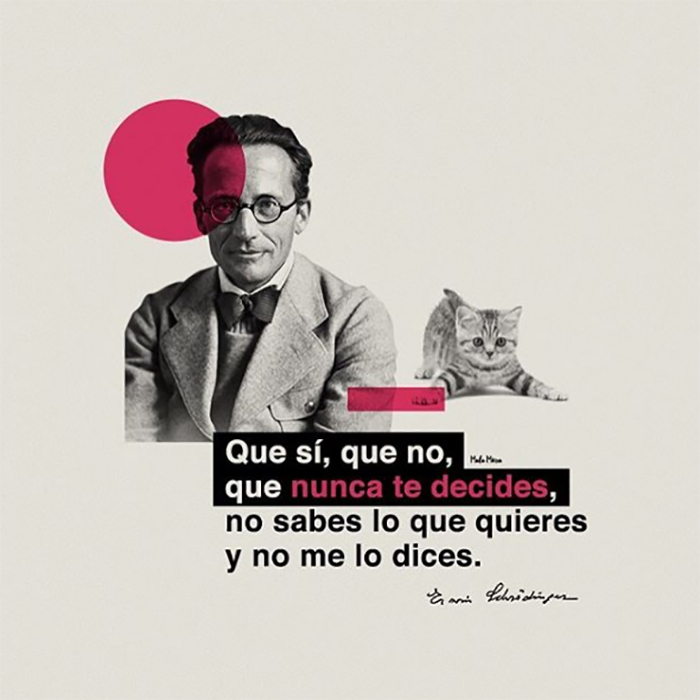Erwin Schrödinger feat. El Símbolo.