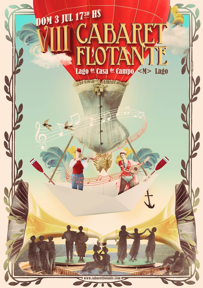 cabaret flotante cartel nokton magazine
