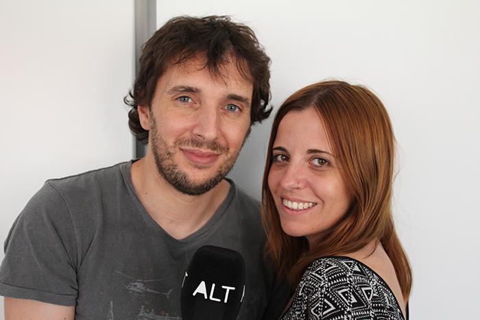 Molo Cebrián y Ana Medina, responsables de Alt.