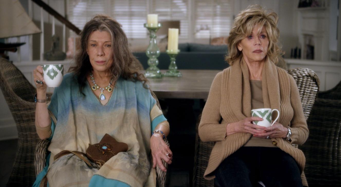 Fotograma de la serie 'Grace and Frankie'.