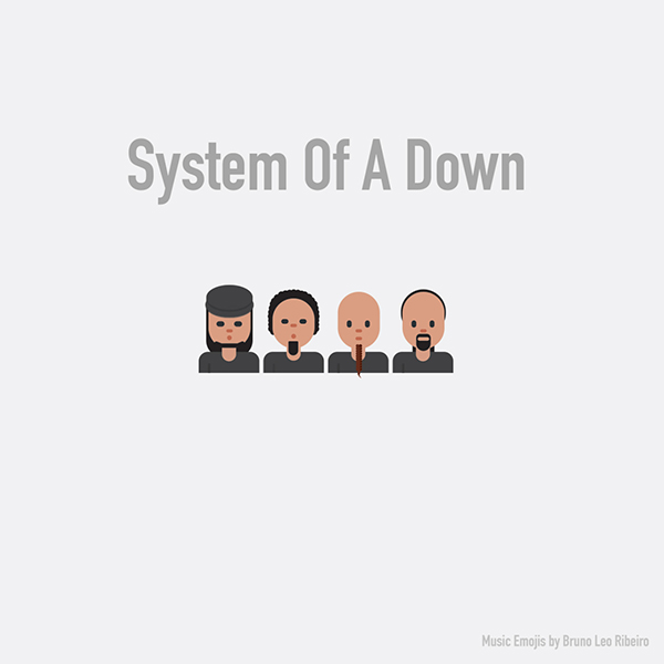 Emoji de System of a Down.