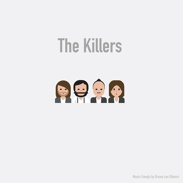 Emoji de The Killers.