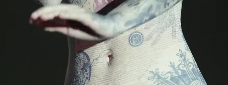 Tatuajes de la protagonista de la serie Blindspot.