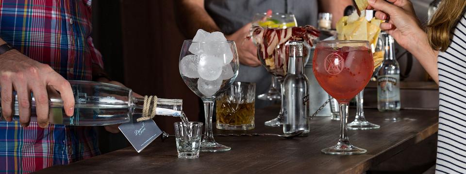 Bebidas en el lounge bar WELKHOMEclub.
