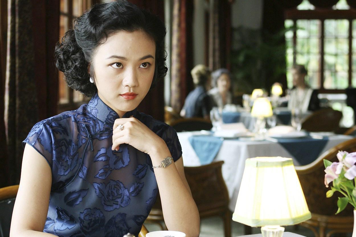 Fotograma de 'Deseo, peligro' de Ang Lee.