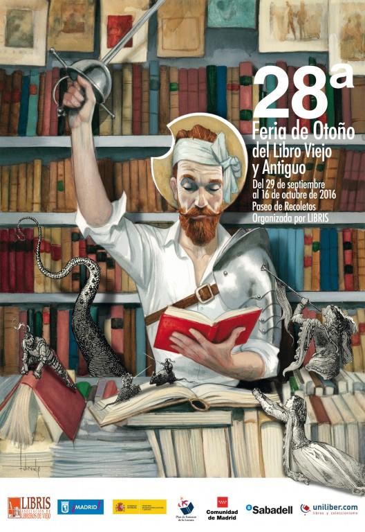 Feria del Libro Viejo y Antiguo de Madrid 2016.