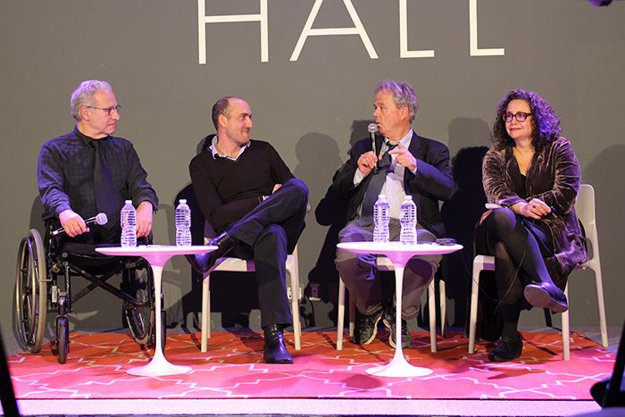 Parte del equipo de 'The Witness'. A la izquierda, Bill Genovese.