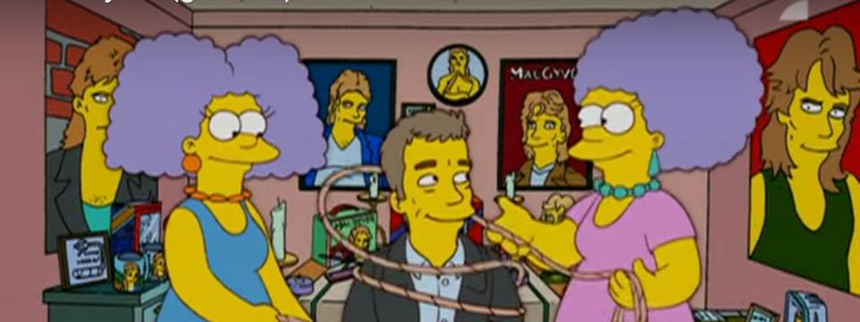 Selma y Patty están muy contentas del regreso de MacGyver.