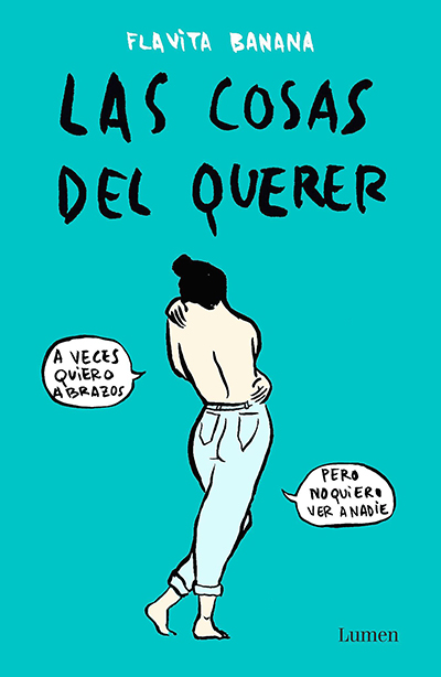 Portada de 'Las Cosas del Querer', editado por Lumen.