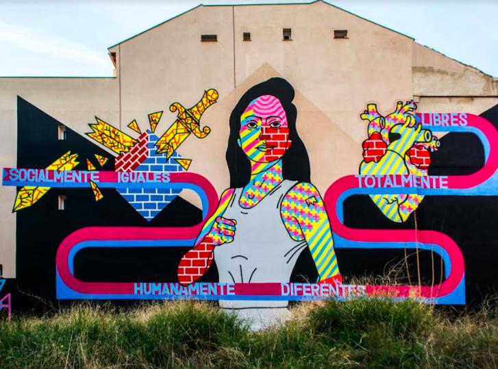 el rey de la ruina arte urbano madrid