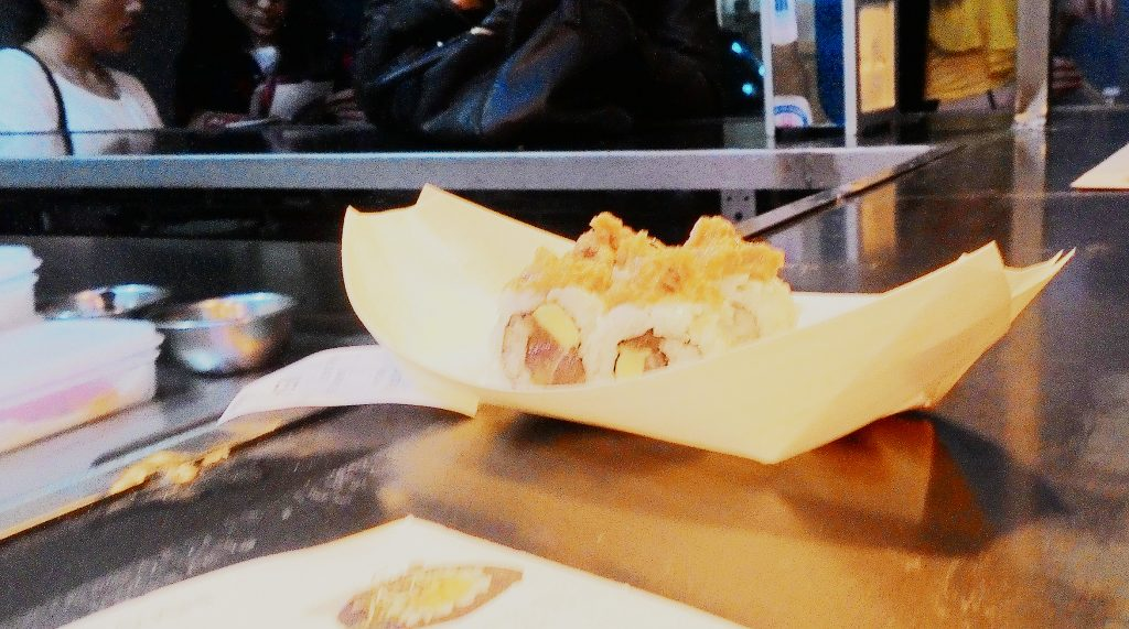 Sushi en Le Japonesais.
