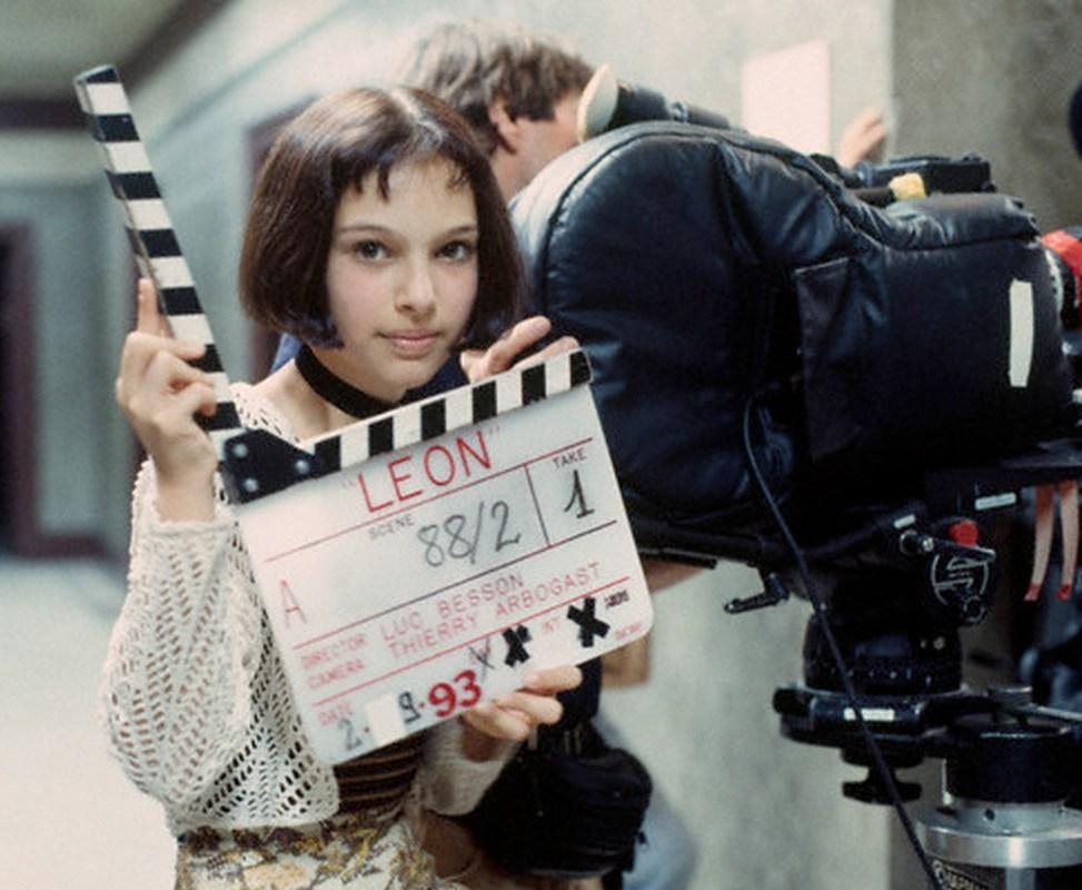 Natalie Portman como Mathilda.