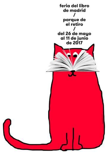 Cartel Feria del Libro de Madrid 2017.