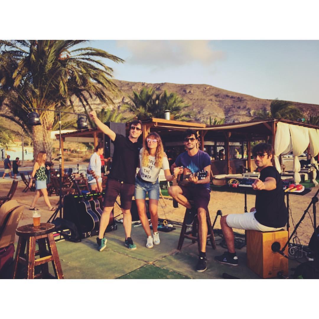 Kuve y Second en el fin de semana de inicio de Rockola Summer Club (La Azohía, Murcia).