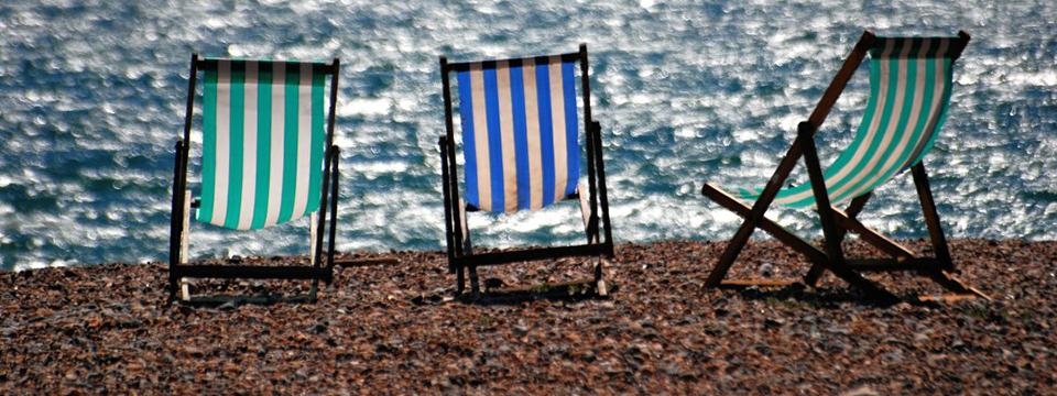 La playa, ese lugar para relajarse.