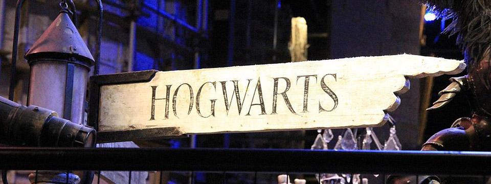 Hacia Hogwarts en la exposición de Harry Potter.