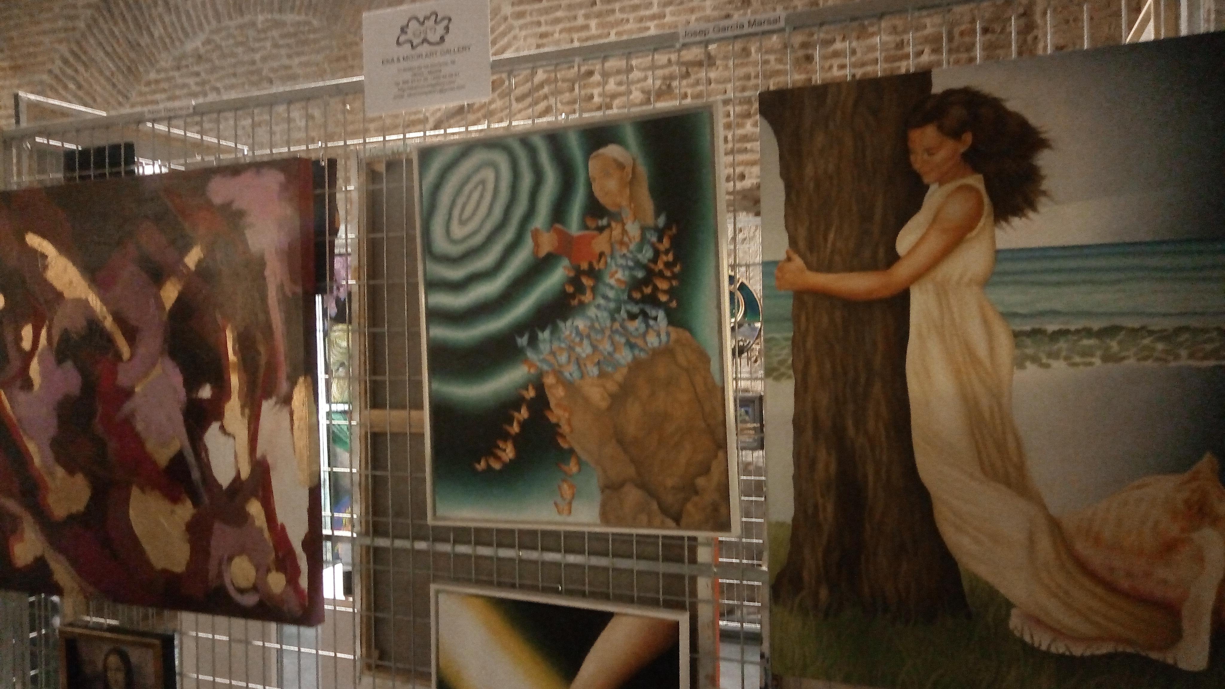 Espacio de Eka & Moor Art Gallery.