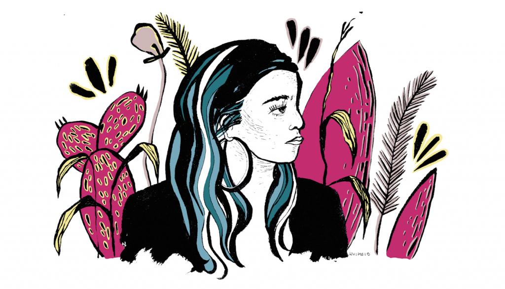 Ilustración de Isabel Couchoud para Aries.
