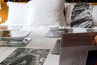Habitaciones de la feria de arte emergente Art & Breakfast.