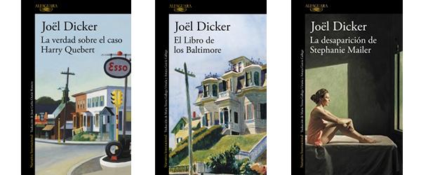 Libros de Joël Dicker.