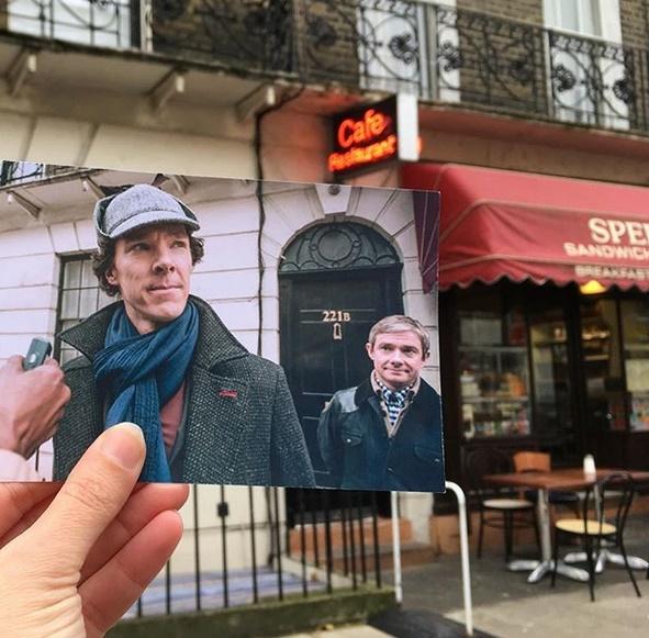 Localización de 'Sherlock'.