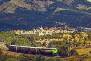 Madrileños al tren