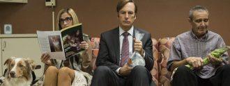 Fotograma de 'Better call Saul' con Bob Odenkirk como protagonista.
