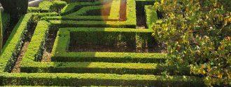 Laberinto de los Jardines de Sabatini.