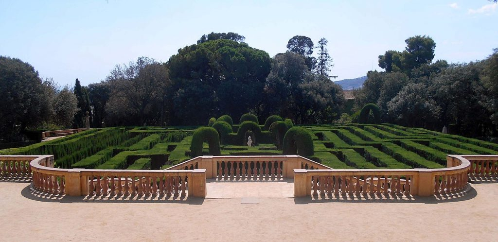 Parque del laberinto de Horta.