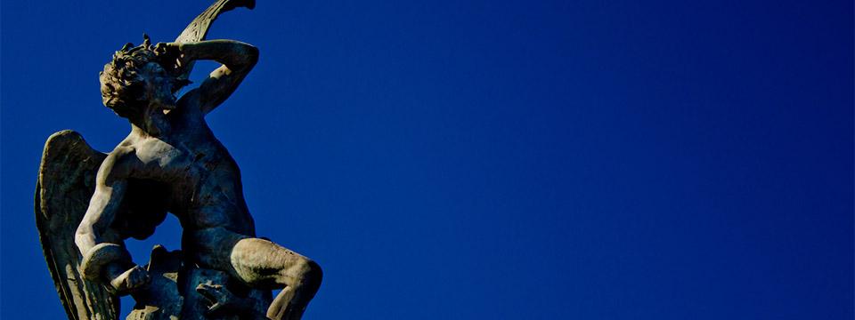 estatua diablo retiro
