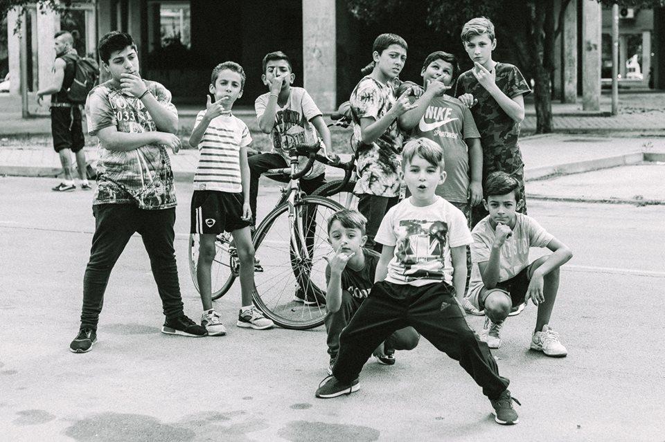 Los niños del proyecto 'Barrios' de Más que palabras.
