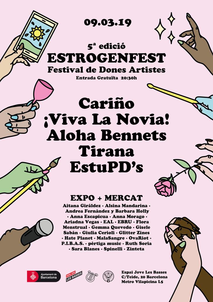 Cartel de Estrogenfest.