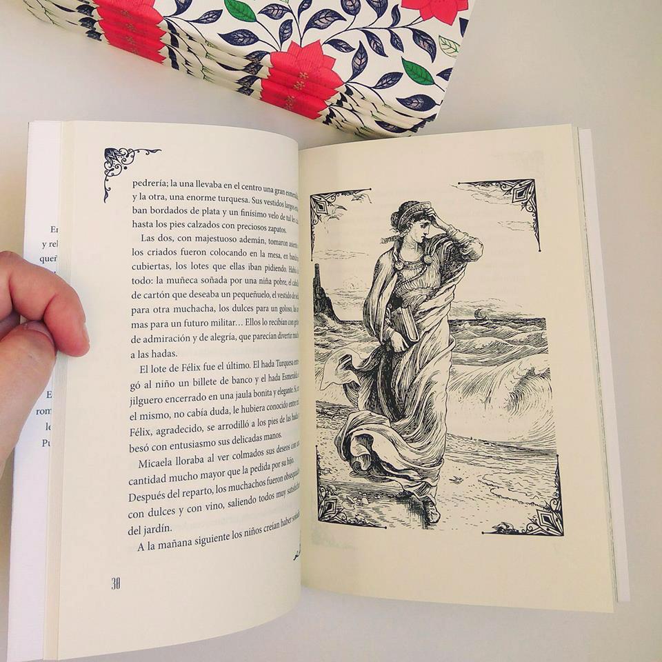 Interior del libro 'Cocos y hadas' de Julia de Asensi.